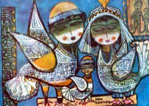 نمونهای دیگر از نقاشیهای ژازه طباطبایی