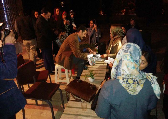 جشن امضای رمان خاما در کتاب فروشی طاقچه با حضور یوسف علیخانی